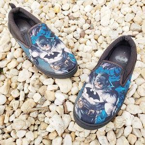 🔥3/$15🔥 Batman DC Comics slip on comfy shoes 7
